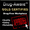Drug-Aware Gold Certified