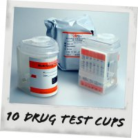 Drug-Aware 10 Drug Integrated Test Cup