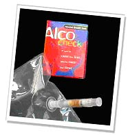 AlcoCheck breathalyser units