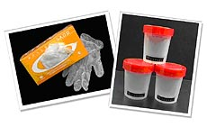 Drug-Aware Drug Testing Accessories, Gloves, Urine Cups