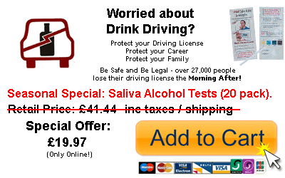 Don't risk drink driving!
